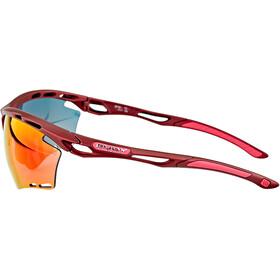 Rudy Project Propulse Bril, merlot matte/multilaser red